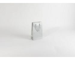 Papírová taška SILVER - 16 x 25 x 8 cm