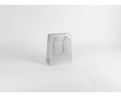 Papírová taška SILVER - 22 x 27,5 x 10 cm