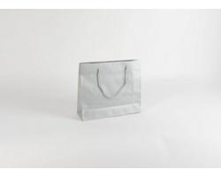 Papírová taška SILVER - 32 x 27,5 x 10 cm