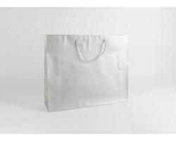 Papírová taška SILVER - 54 x 44,5 x 14 cm