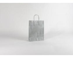 Papírová taška SILVER EKO - 23 x 32 x 10 cm