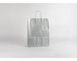 Papírová taška SILVER EKO - 32 x 42,5 x 13 cm