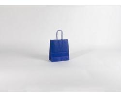 Papírová taška SPEKTRUM BLUE - 18 x 20 x 8 cm