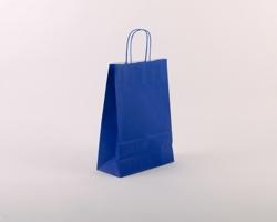 Papírová taška SPEKTRUM BLUE - 23 x 32 x 10 cm - modrá