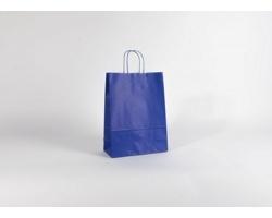 Papírová taška SPEKTRUM BLUE - 26 x 34,5 x 11 cm