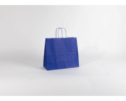 Papírová taška SPEKTRUM BLUE - 32 x 28 x 13 cm