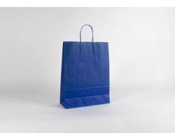 Papírová taška SPEKTRUM BLUE - 32 x 42 x 13 cm
