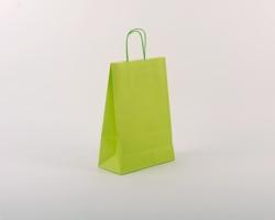 Papírová taška SPEKTRUM GREEN - 23 x 32 x 10 cm - zelená