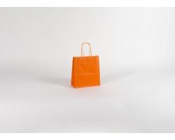Papírová taška SPEKTRUM ORANGE - 18 x 20 x 8 cm