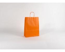 Papírová taška SPEKTRUM ORANGE - 26 x 34,5 x 11 cm
