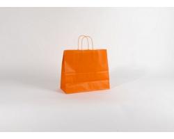 Papírová taška SPEKTRUM ORANGE - 32 x 28 x 13 cm
