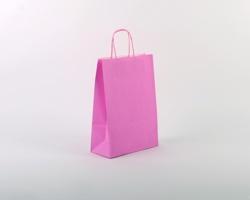 Papírová taška SPEKTRUM PINK - 23 x 32 x 10 cm - růžová
