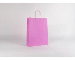 Papírová taška SPEKTRUM PINK - 32 x 42 x 13 cm