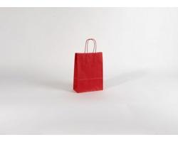Papírová taška SPEKTRUM RED - 18 x 25 x 8 cm
