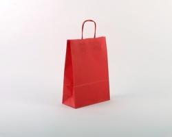Papírová taška SPEKTRUM RED - 23 x 32 x 10 cm - červená