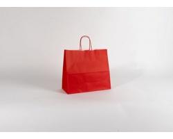 Papírová taška SPEKTRUM RED - 32 x 28 x 13 cm