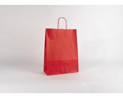 Papírová taška SPEKTRUM RED - 32 x 42 x 13 cm