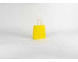 Papírová taška SPEKTRUM YELLOW - 18 x 25 x 8 cm