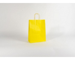 Papírová taška SPEKTRUM YELLOW - 26 x 34,5 x 11 cm