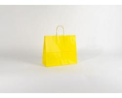 Papírová taška SPEKTRUM YELLOW - 32 x 28 x 13 cm