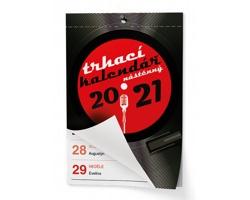 Nástěnný kalendář Trhací kalendář I. 2021