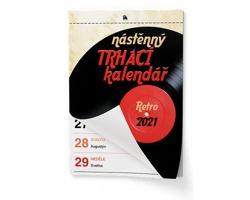 Nástěnný kalendář Trhací kalendář II. 2021