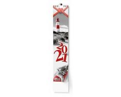 Nástěnný kalendář Kravata 2020 - Žánrový