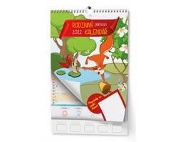 Nástěnný kalendář Rodinný 2022