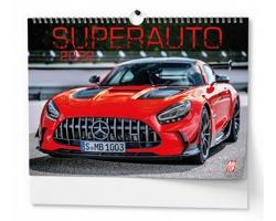 Nástěnný kalendář Superauto 2022