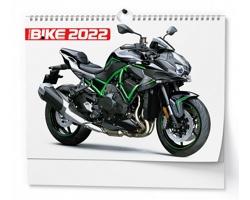 Nástěnný kalendář Motorbike 2022