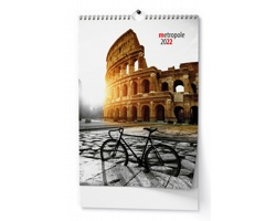 Nástěnný kalendář Metropole 2022