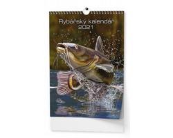 Nástěnný kalendář Rybářský kalendář 2021