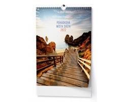 Nástěnný kalendář Pohádková místa 2022