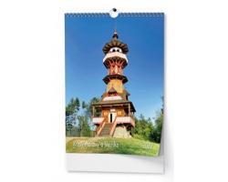 Nástěnný kalendář Krásy Moravy a Slezska 2022