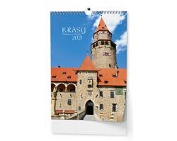 Nástěnný kalendář Krásy Moravy a Slezska 2021