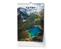 Nástěnný kalendář Tatry 2022