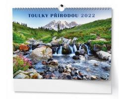 Nástěnný kalendář Toulky přírodou 2022