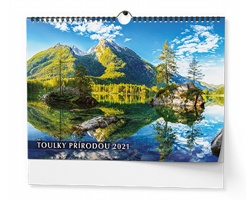 VÝPRODEJ: Nástěnný kalendář Toulky přírodou 2019