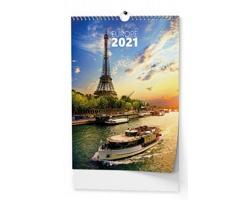 Nástěnný kalendář Evropa 2021