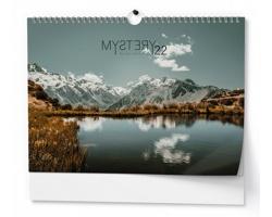 Nástěnný kalendář Mystery (Dan Baloušek) 2022