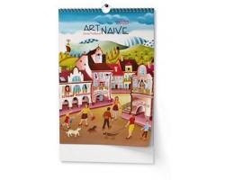 VÝPRODEJ: Nástěnný kalendář Art Naive - Sylva Prchlíková 2019