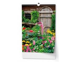 Nástěnný kalendář Zahrady 2022