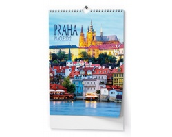 Nástěnný kalendář Praha 2022