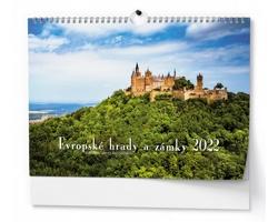 Nástěnný kalendář Evropské hrady a zámky 2022