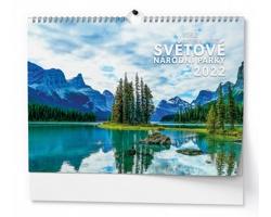 Nástěnný kalendář Světové národní parky 2022