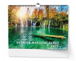 Nástěnný kalendář Světové národní parky 2021