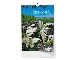 VÝPRODEJ: Nástěnný kalendář Český ráj 2019