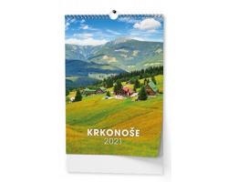 VÝPRODEJ: Nástěnný kalendář Krkonoše 2019