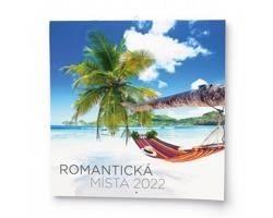 Nástěnný kalendář Romantická místa 2022