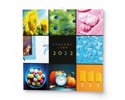 Nástěnný kalendář Barevný svět 2022